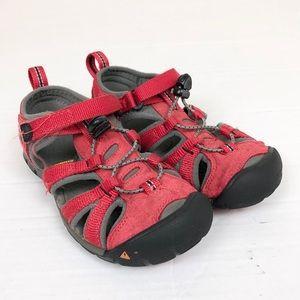 Keen Waterproof red sandals size 13